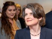 Mit Kathrin Schweizer kehren die Sozialdemokraten zurück in die Baselbieter Regierung (KEYSTONE/Georgios Kefalas) (Bild: KEYSTONE/GEORGIOS KEFALAS)