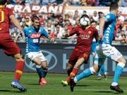 Die Roma spielte gegen Napoli kopflos und verlor deutlich (Bild: KEYSTONE/AP/ANDREW MEDICHINI)
