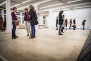 Im Kult-X werden diverse Ausstellungen gezeigt. (Bild: Andrea Stalder)
