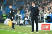 Der Luzerner Gerardo Seoane könnte mit den Young Boys in dieser Saison das Double feiern. (Gian Ehrenzeller/Keystone (Basel, 2. Dezember 2018))