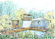 «Peter Richards Lieblingsplätze» heisst der Schaugarten der Wängemer Winkler Richard Naturgärten.