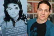 Im Dokfilm «Leaving Neverland» sagen Zeugen aus, von Michael Jackson missbraucht worden zu sein. Ueli Meier, Mitgründer des Schweizer Michael-Jackson-Fanclub, zweifelt an der Richtigkeit der Dokumentation. (Bildcombo: red.)