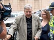 Alte Missbrauchsvorwürfe, neue Klage: der australische Kardinal George Pell - einstige Nummer drei im Vatikan. (Bild: KEYSTONE/AP Associated Press/ANDY BROWNBILL)