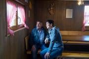 Esther und Guido Portmann bewarten die Gschweichhütte ob Schlierbach. (Bild: Nadia Schärli, Schlierbach, 7. März 2019)