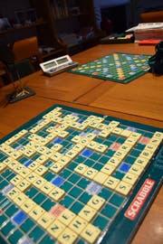 Etwa 20 Scrabble-Spiele hat Blanca Gröbli bei sich zu Hause.