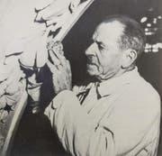 Alois Griessl bei der Arbeit. (Bild: PD)