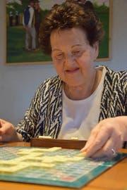 Das Spiel ihres Lebens: Blanca Gröbli ist passionierte Scrabble-Spielerin. (Bilder: Tobias Söldi)