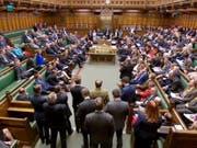 Allgemeine Ratlosigkeit: Das britische Unterhaus hat am Montagabend erneut alle Vorschläge für ein Brexit-Abkommen abgelehnt. (Bild: KEYSTONE/EPA UK PARLIAMENTARY RECORDING UNIT)