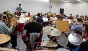 Am Probeweekend in Sarnen hat sich die Feldmusik Altdorf noch einmal intensiv auf das Jahreskonzert vorbereitet. (Bild: PD)
