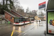 Gegen die Umgestaltung des Strassenbereichs beim Mühleggweier gibt es Widerstand aus dem Quartier. (Bild: Hanspeter Schiess (26. März 2018))