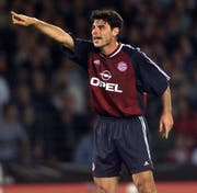 Ciriaco Sforza im Dress des FC Bayern München. (Bild: Keystone)
