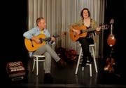 Annette Démarais und Georg Della Pietra hauchen den Liedern von Dieter Wiesmann neues Leben ein. (Bild: PD)