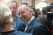 Roland Fischer (GLP) am vergangenen Sonntag im Regierungsgebäude in der Stadt Luzern. (Bild: Boris Bürgisser, 31. März 2019)