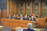 Der Regierungsrat hat am Montag im Rahmen einer Interpellation wiederholt auf das Potenzial erneuerbarer Energien hingewiesen. (Bild: Alessia Pagani)