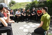 Die Teilnehmer des «Momänt»-Kurstages setzten sich mit der Emotion Wut auseinander. (Bild: PD)