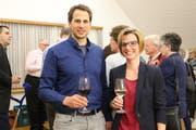 Sven Aschwanden und Manuela Jung freuen sich auf ihre neuen Ämter. (Bild: Hannelore Bruderer)