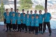 Die Nachwuchsringer des RC Oberriet-Grabs dominieren derzeit die Mannschaftsmeisterschaften. (Bild: pd)