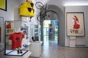 Die Ausstellung thematisiert die Frauenbewegung. (Bild: KEYSTONE/Ennio Leanza)