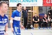 Handballspiel zwischen dem HC Kriens-Luzern und Suhr Aarau. (Bild: Jakob Ineichen, Luzern, 18. November 2018)