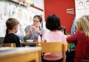 Kindergärtnerin ist für sie noch immer der schönste aller Berufe: Barbara Kurth, Präsidentin des Lehrervereins. (Bild: Stefan Kaiser (Zug, 9. April 2019))