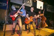 The Five an der Rockabilly-Night 2016 - sie sind uch dieses Jahr wieder da. (Bild: André A. Niederberger)