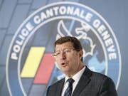 Polizeiaffäre in Genf: Sicherheitsdirektor Mauro Poggia reagiert mit einer E-Mail an alle Polizeibeamten auf die Ermittlungen. (Bild: Keystone/SALVATORE DI NOLFI)