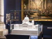 Die neue Dauerausstellung «Geschichte Schweiz» im Landesmuseum Zürich zeigt das Bundeshaus im Modell. (Bild: Schweizerisches Nationalmuseum)