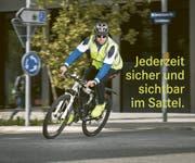 Sichtbarkeit beim Velofahren bringt Sicherheit. (Bild: PD)
