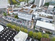 Der Hauptsitz des Fleischverarbeiters Bell in Basel. (Bild: KEYSTONE/PATRICK STRAUB)