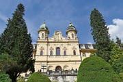 Was geschieht mit dem Kollegi (Bild), dem Theresianum Ingenbohl und den Mittelschulen in Ausserschwyz? Die Debatte wird bald auch den Schwyzer Kantonsrat beschäftigen. (Bild: Laura Inderbitzin, 1. September 2016)