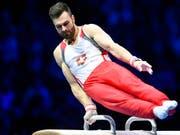 Oliver Hegi geht an den Europameisterschaften trotz Schmerzen auf Medaillenjagd (Bild: KEYSTONE/WALTER BIERI)
