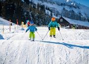 Die professionelle Funslope auf dem Gelände von Wildhaus 2.0 war bei den Gästen im Skigebiet sehr beliebt. (Bild: PD)