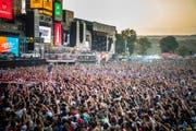 Das Open Air Frauenfeld ist das grösste Festival der Schweiz. Bild: Keystone