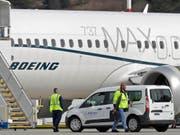Der Boeing-Konzern hat mit einer überarbeiteten Software bereits mehrere Flüge mit dem Krisenjet der 737-Max-Reihe absolviert. (Bild: KEYSTONE/AP/TED S. WARREN)
