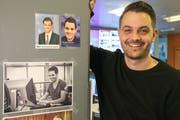 Hat sein halbes Leben bei TVO gearbeitet: Programmchef und Redaktionsleiter Thomas Bächle. (Bild: Raphael Rohner)