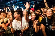 Publikum am Jazz Festival. (Bild: Keystone/Jean-Christophe Bott)