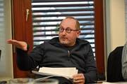 Der Sarner FDP-Kantonsrat und Steuerexperte Branko Balaban fordert den Gemeinderat unmissverständlich dazu auf, eine Steuersenkung vorzunehmen. (Bild: Romano Cuonz (Sarnen, 10. April 2019))