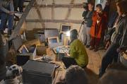 Impression von der Winter-Austellung im Haus zur Glocke in Steckborn, (Bild: Margrith Pfister-Kübler, 25. November 2018)