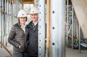 Beatrice und Andreas Bickel managen auch den BMW-Standort in Frauenfeld. (Bild: Andrea Stalder)