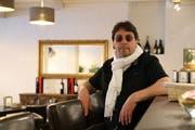 Franco Gaglio an der Bar des Cafés Arcade. (Bild: Rahel Jenny Egger)