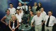 Die Startaufstellung von Tele Ostschweiz im Jahr 1999. (Bild: TVO)