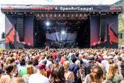 Das Gampel ist das Party-Festival unter den Open Airs. (Bild: Keystone/Manuel Lopez)