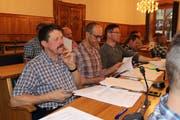 Der Korporationsrat Uri befindet am 26. April im Altdorfer Landratssaal über die Rechnung 2018 der Korporations Uri. (Bild: Elias Bricker, 10. Februar 2017)