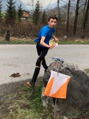 Sven Gisler aus Attinghausen belegte in der Kategorie A als einer der Jüngsten auf Anhieb einen Platz in den Top Ten. (Bild: PD)