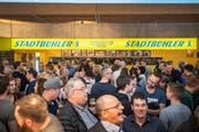 Der Andrang täuscht: Das Konsumverhalten hat sich verändert, weshalb die Brauerei Stadtbühl künftig nicht mehr an der Offa und der Olma sein wird. Bild: Urs Bucher/TAGBLATT