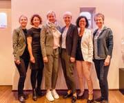 Der neue Vorstand (von links): Sandra Leutenegger (bisher), Franziska Auderer (neu), Evelyn Bühlmann (neu), Sandra Roth (bisher), Andrea Herber (bisher) und Danielle Windlin (bisher). (Bild: pd)