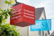 Die Musikbox ist Teil der Begegnungszone in der Frauenfeld Innenstadt. (Bild: Reto Martin)