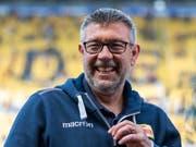 Urs Fischer fühlt sich in Berlin wohl und kämpft mit Union um den Aufstieg in die Bundesliga (Bild: KEYSTONE/dpa-Zentralbild/ROBERT MICHAEL)