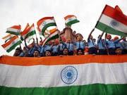 Millionen Inder gedenken dieses Wochenende des Massakers von Amritsar vor hundert Jahren. Eine Entschuldigung Grossbritanniens steht noch immer aus. (Bild: KEYSTONE/EPA/RAMINDER PAL SINGH)