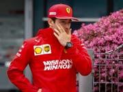 Setzt Ferraris Teamleader Sebastian Vettel gehörig unter Druck: Charles Leclerc (Bild: KEYSTONE/EPA/DIEGO AZUBEL)